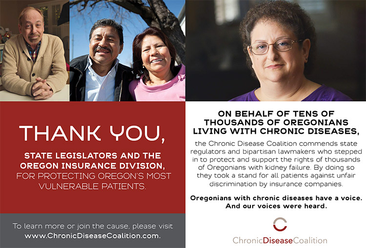 """Chronic Disease Coalition launches """"thank you"""" campaign"""