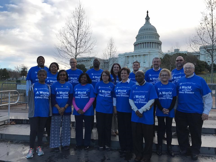 Kidney patients speak out during National Kidney Month on Capitol Hill
