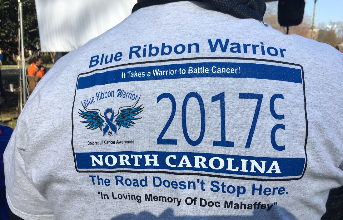 North Carolina considers license tag for colon cancer awareness