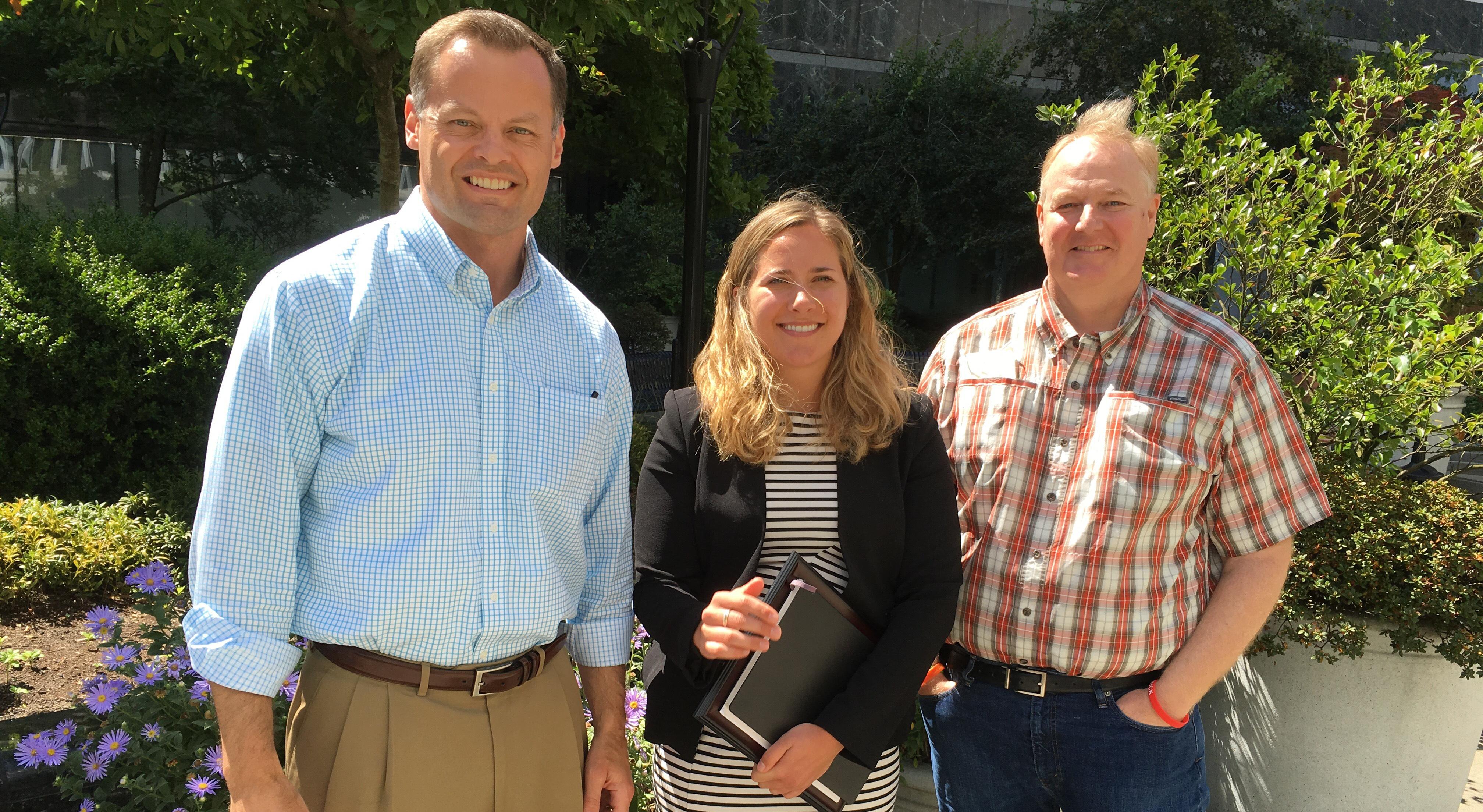 Coalition awards U.S. Rep. Earl Blumenauer Chronic Disease Congressional Champion Award