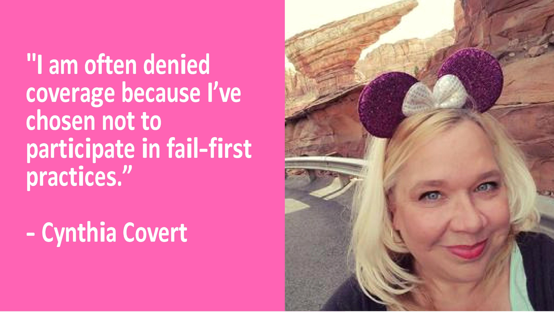 Patient Advocate Spotlight: Cynthia Covert