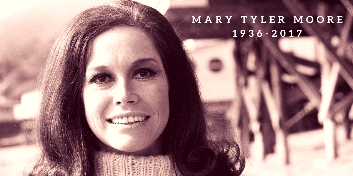 Mary Tyler Moore, actress and diabetes advocate, dies