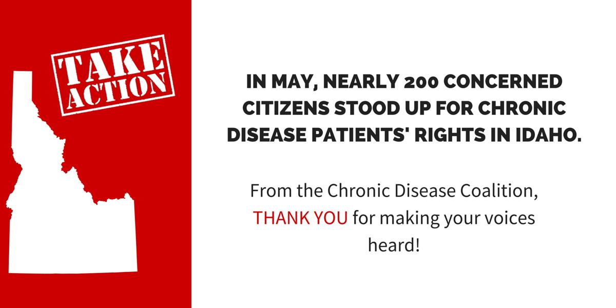 Chronic Disease Coalition issues statement on Idaho Department of Insurance bulletin