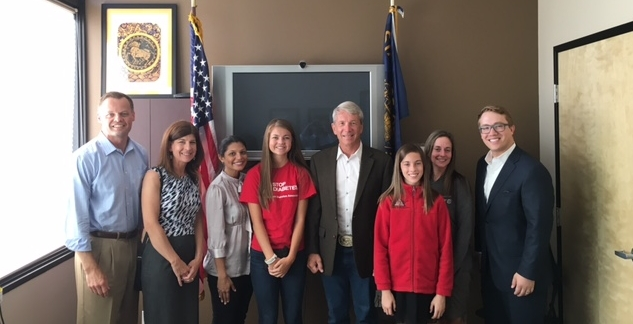 American Diabetes Association and Chronic Disease Coalition discuss health-care issues with Oregon Congressman Kurt Schrader