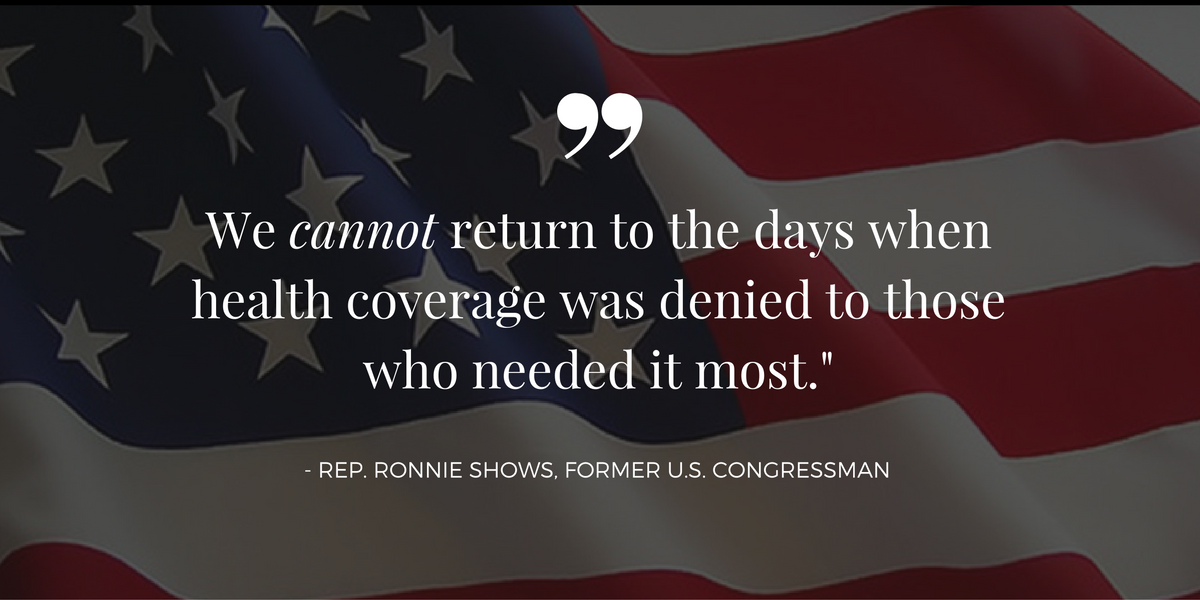 Congressman to Obama: Kicking the sickest patients off health-care exchanges is not the answer