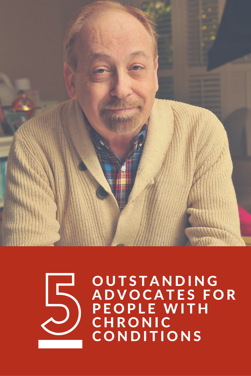 Five outstanding advocates for people with chronic health conditions