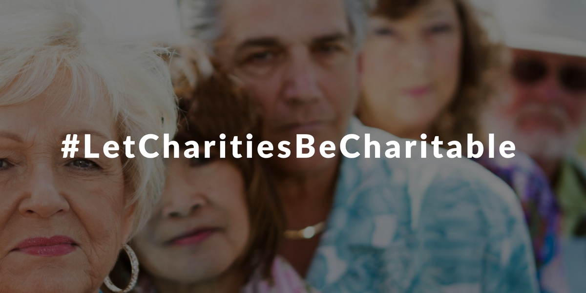 American consumers to U.S. government: Let charities be charitable