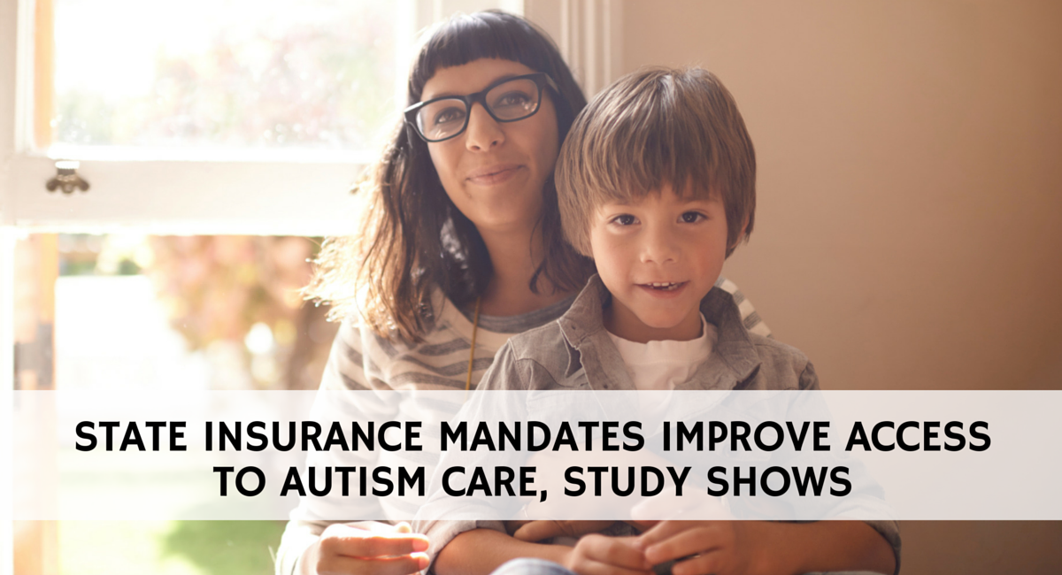 Study shows state insurance mandates increase access to autism care