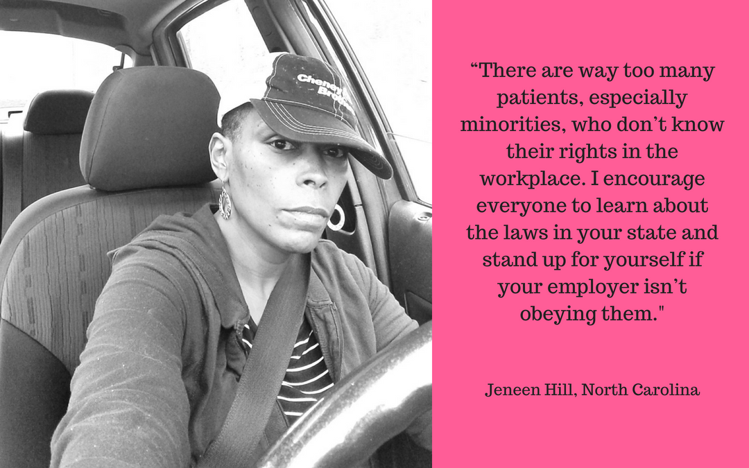 Patient Advocate Spotlight: Jeneen Hill