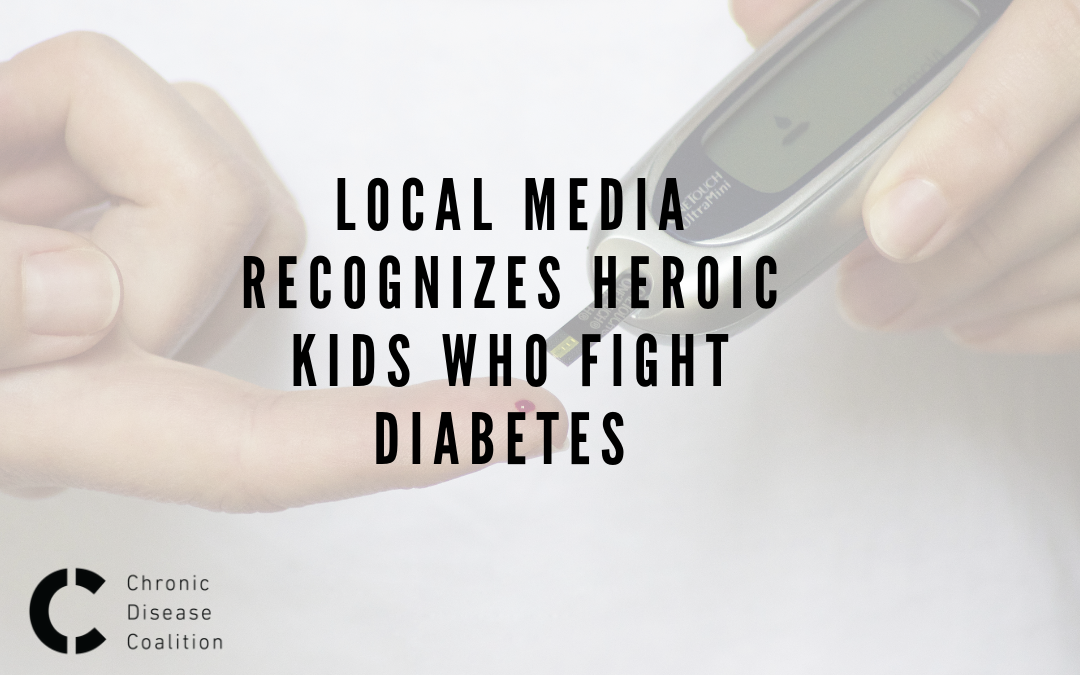 Local media recognizes heroic kids who fight diabetes