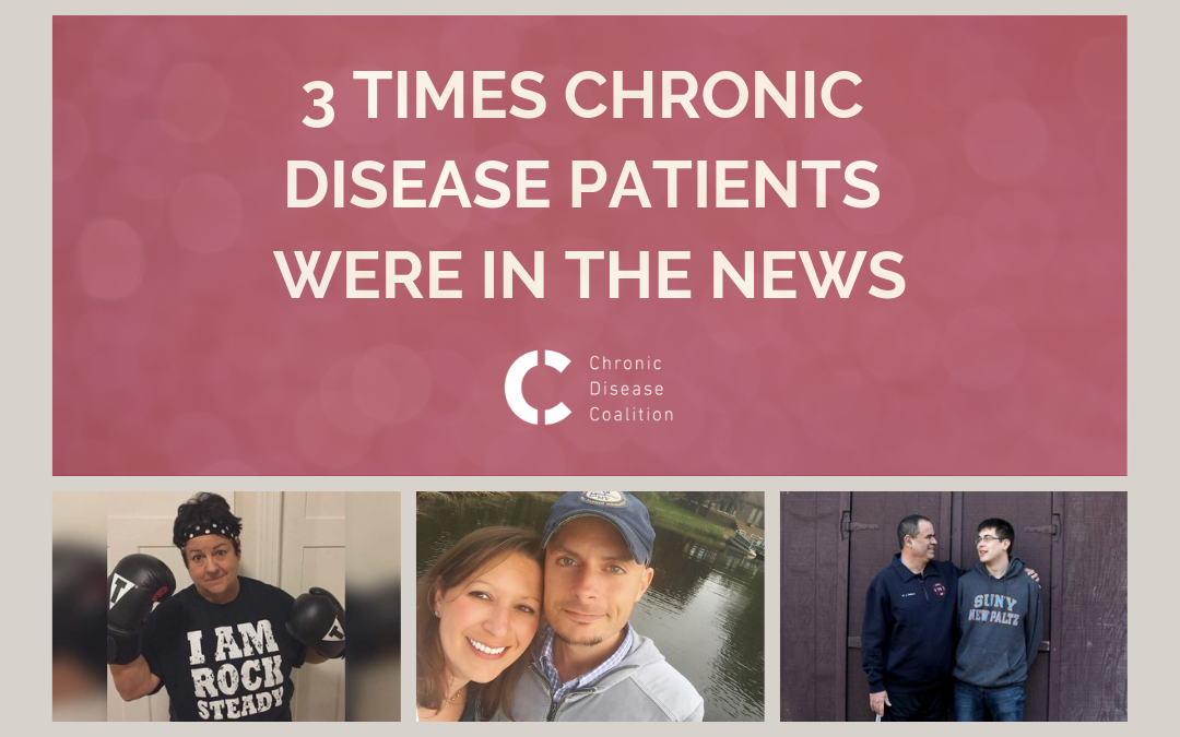 3 times chronic disease patients were in the media