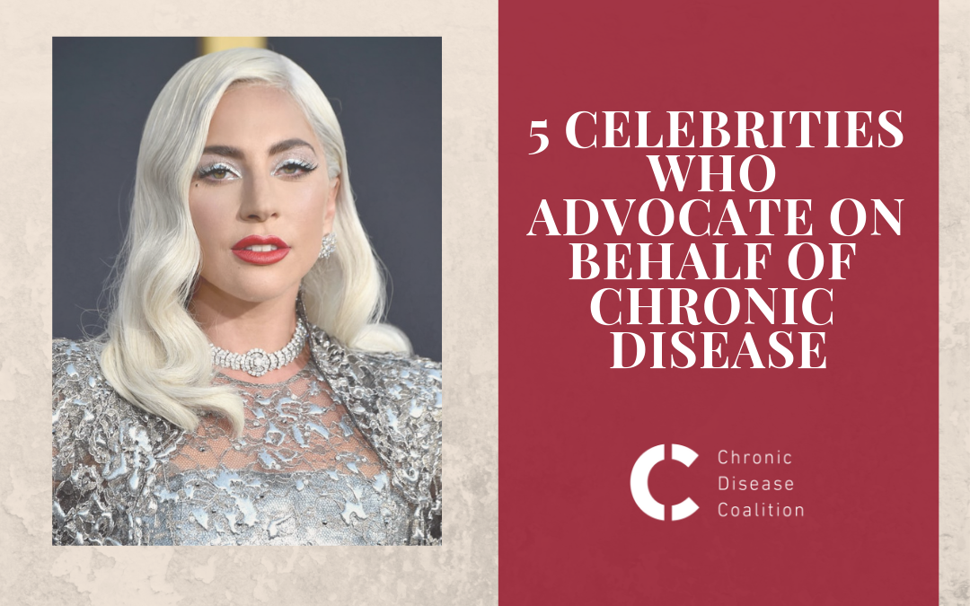 5 celebrities who advocate on behalf of chronic disease patients