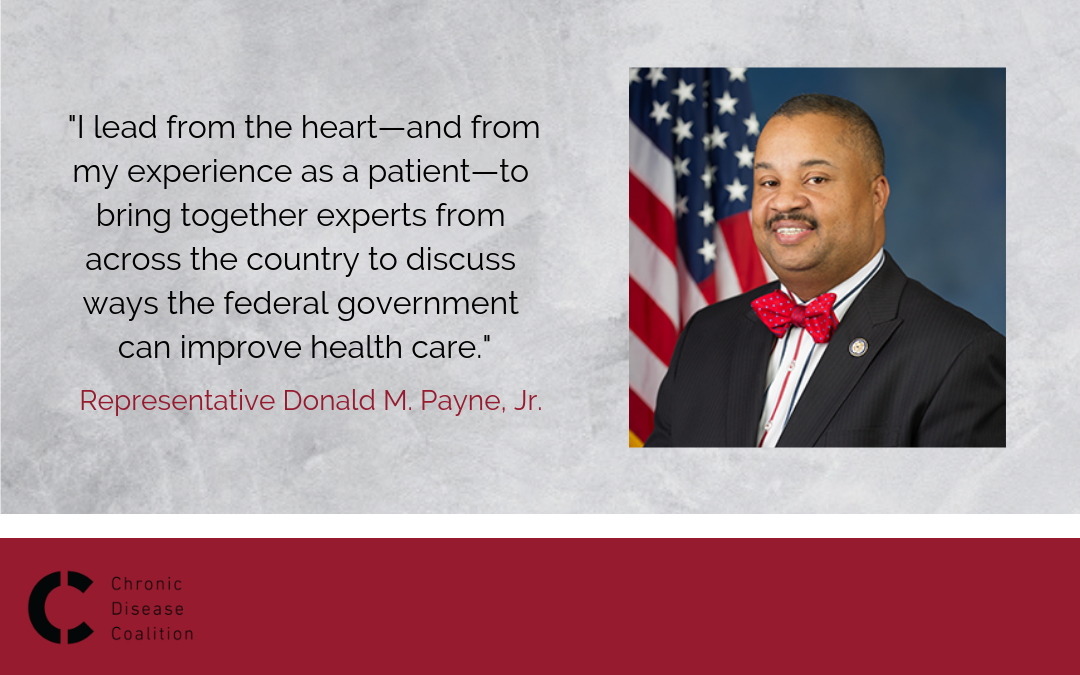 Representative Payne: Working hard for chronic disease patients, including himself