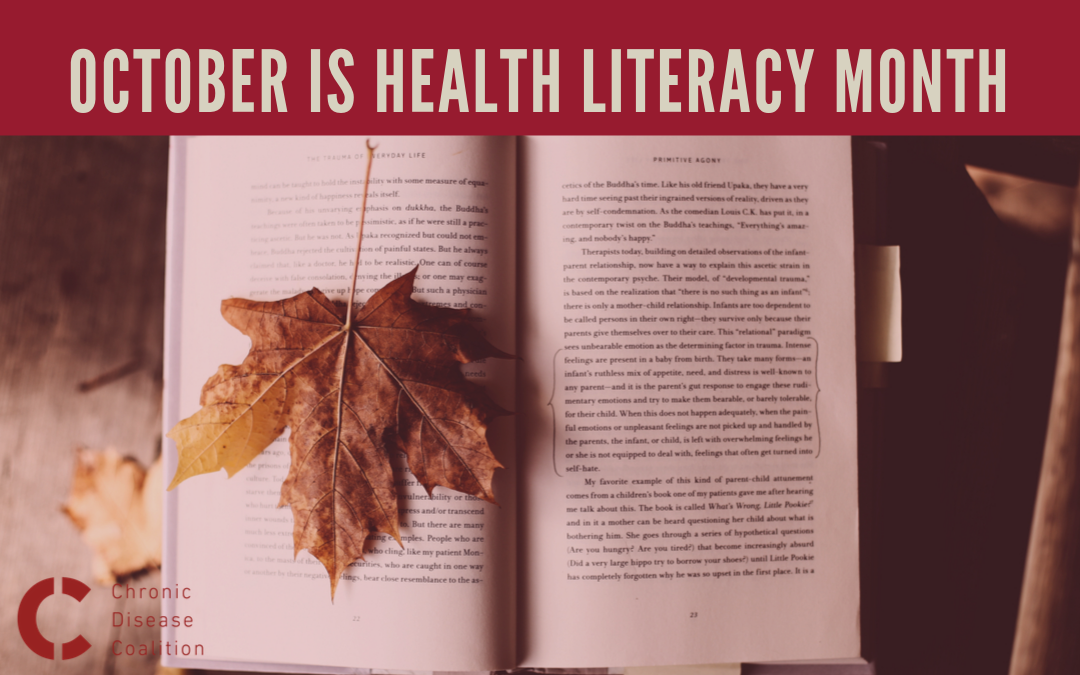 October is Health Literacy Month: Inform and empower yourself!