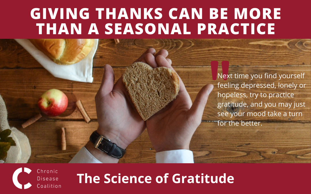 Giving thanks can be more than a seasonal practice