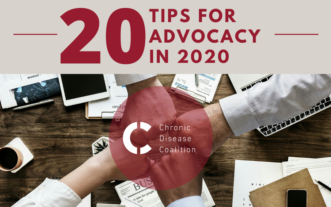 20 tips for advocacy in 2020
