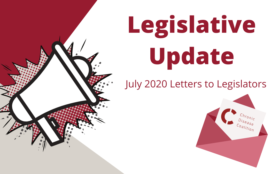 July 2020 Letters to Legislators
