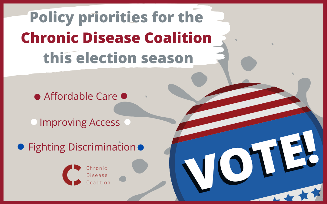 Policy priorities for the Chronic Disease Coalition this election season