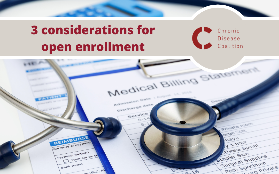 3 considerations for open enrollment