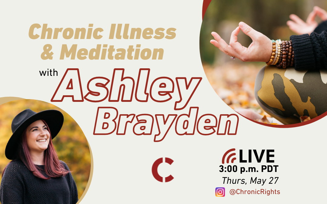 Instagram Live: Mindfulness and Yoga with a Chronic Disease